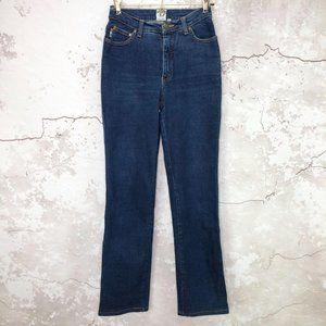 Moschino Peace Sign Straight Leg Jeans 28